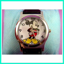 NEW Mickey Mouse Quartz Fashion Child Boy Men Wrist Watch Wristwatch FREE SHIP
