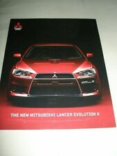 Mitsubishi Lancer Evolution X brochure Dec 2007