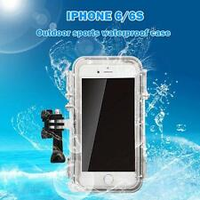 Sports Underwater Mount Waterproof Case Cover For iPhone 6/6S Gopro Accessories
