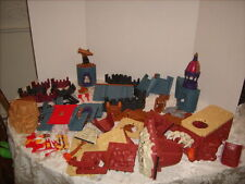 Fisher Price Imaginext Castle & T Rex Mountain Dinosaur Parts Lot - Cannon ++