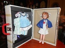 """15"""" Red Cross Nurse Doll with Trunk Full of Clothes - Advertising Give Away?"""