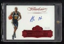Alec Burks Flawless Autographs RUBY Auto #10/15! 1/1? JERSEY NUMBER! Utah Jazz!