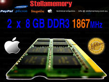 5K Late 2015 iMac 16GB Memory Kit 2x 8GB DDR3 1867MHz Ram 1866 PC314900 iMac17,1