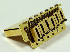 NEW Solid Brass Tremolo Bridge For Fender Strat -  Made in USA