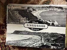T2-1 postcards x 2  unused scarborough south and north bays park