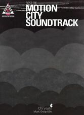 Motion City Soundtrack Learn to Play Pop Rock Guitar TAB Music Book