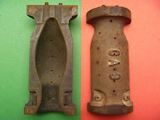 2 Piece C-9 Christmas Light Bulb Mold  Cast Iron Foundry Obsolete