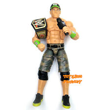 WWE John Cena Elite Wrestling Action Figure Kid Toy Never Give Up Hat Belt