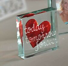 Spaceform Paperweight Today Tomorrow Valentines Love Gifts For Her Him 1589