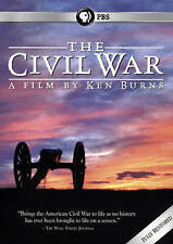 The Civil War 25th Anniversary, Ken Burns (DVD, 2015, 6-Discs, PBS) Free Ship !!