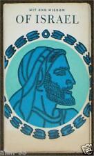WIT AND WISDOM OF ISRAEL ~ EDITED ELLIOT BEIER ~ ILLUS JEFF HILL ~ VINTAGE HC