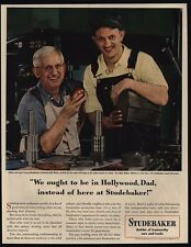 1948 Father & Son - William & Bill Wolter - STUDEBAKER Toolmaker - VINTAGE AD