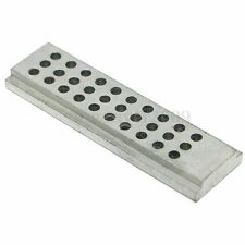 Rectangle Metal Double Sided Punch Block Watch Jewelers Tiny Part Repair Tool