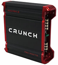 Crunch PZX750.2 750 Watt 2 Channel Powerful Car Audio Amplifier Stereo Amp
