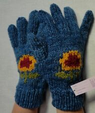 NEW, HIGH QUALITY, ALPACA AND SHEEP WOOL, HAND KNITTED GLOVES, ANDEAN, WINTER b