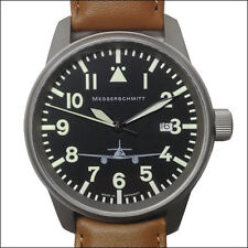 Aristo Messerschmitt Swiss Quartz Pilot Watch with 41mm Titanium Case #ME262M