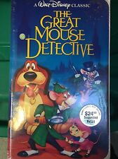 Walt Disney Classic The Great Mouse Detective VHS Brand New Clam Shell Sealed