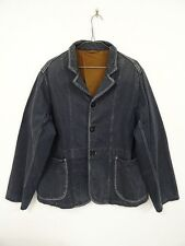 KAPITAL Faded Canvas Jacket Navy Anchor Button Size 3(L) Made In JAPAN