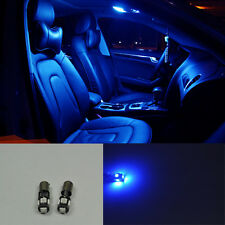 For Audi A4 B5 B6 B7 94-08 2X Error Free 5 SMD LED SMD bLUE LIGHTs interior MAP