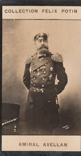 Fyodor Karlovich Avelan Admiral Imperial Russian Navy Russia IMAGE CARD 1907