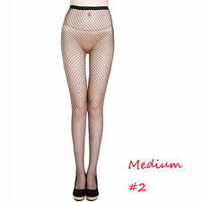 2017 Women's Sexy Fishnet Pattern Pantyhose Tights Punk Stockings Medium Fishnet