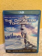 THE DAY AFTER TOMORROW BLU-RAY 2004 DISASTER MOVIE
