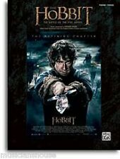 The Hobbit The Battle of the Five Armies LEARN TO PLAY PIANO VOCAL Music Book