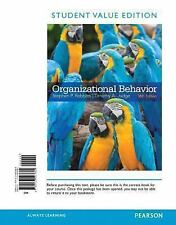 Organizational Behavior Student Value Edition 16th Edition Retail $190