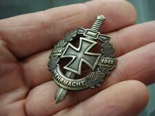 WW II German Army Wehrmacht Custom Badge