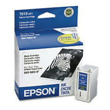 Epson T019 Black Genuine ink Cartridge T019201 Stylus Color 8 83 880 880i 888
