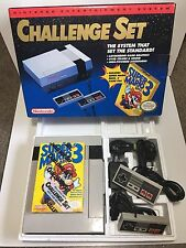 NES NINTENDO CONSOLE GAME SYSTEM ORIGINAL CHALLENGE SET MARIO 3 COMPLETE IN BOX
