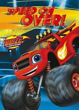8 Blaze and the Monster Machines Birthday Party Invitation Invites and Envelopes