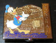 Disney Monorail Donald Duck Annual Pass holder Pin Commemorative Collections