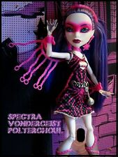 Monster High SPECTRA POLTERGHOUL Power Ghouls SUPER HERO Comic EXCLUSIVE Doll !!