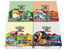 Pokemon: XY-12 Evolutions 4 Sealed Booster Packs - New Trading Cards for 2016