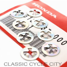Honda CB 450 K1-K7 Seitendeckel Emblem Clips Set Side Cover Nuts 90313-567-000