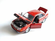 Audi 100 C4 c 4 Limousine saloon rot rouge rosso roja red, Schabak in 1:43!