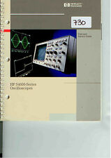 HP/Agilent 54600 Series Oscilloscope User & Service Guide Loc: 730