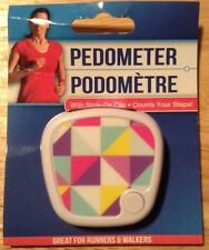 NEW PEDOMETER COUNTS YOUR STEPS FOR RUNNERS & WALKERS withside on clip