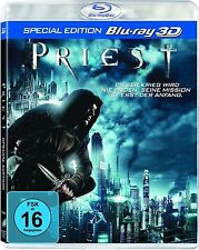 PRIEST (Paul Bettany, Karl Urban) Blu-ray 3D NEU+OVP