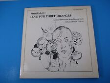 Love For Three Oranges Sergei Prokofiev Album LP Vinyl Moscow Radio MHS 4027/28