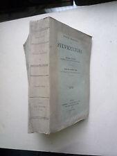 1916 TRAITE DE SYLVICULTURE DE A JOLYET 2eme EDITION DU TRAITE DE BOPPE ET JOLYE
