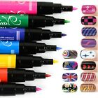 Nail Art Pen Painting Design Tool Drawing for UV Gel Polish 12 colors 12 pcs B20