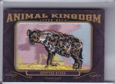 2012 UPPER DECK GOODWIN CHAMPIONS #AK115 SPOTTED HYENA PATCH