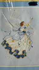 Dimensions Counted Cross Stitch Kit Gold Collection Celestial Angel NIB 12x17""