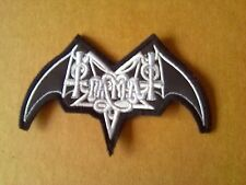 TIAMAT,SEW ON WHITE EMBROIDERED PATCH