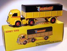 Camion Panhard + semi-remorque CALBERSON - ref 32 AN de dinky toys atlas