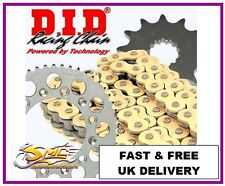HONDA CBR125R 2011-16 DID GOLD OE Chain & Sprocket Kit ** FREE CHAIN LUBE **