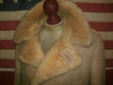 Marlboro Man  LAKELAND  Shearling Sheepskin Leather Coat Jacket . Size 42 . USA