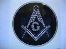 "2"" MASONIC WINDOW STICKERS X 2  KNIGHTS TEMPLAR MASONIC MOTORBIKE  Helmets"